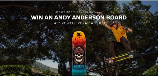 Stoked Ride Shop Giveaway