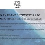 A Trip for 2 to Down Under – Win $4,990 Prizes