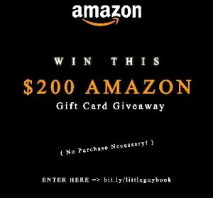 Amazon Gift Card Book Launch Giveaway – Win $200 Gift Card