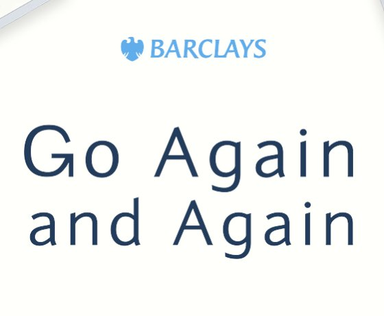 Barclays Go Again and Again Sweepstakes