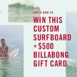 Enter To Win A Custom Free The Waves Surfboard – Win $1,500 Prizes