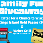 Family Fun Giveaway Sweepstakes  – Win $1000 Gold Passes