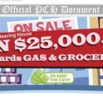 PCH Gas Groceries Giveaway – Win $25000