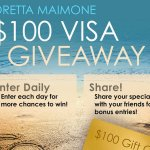 Visa Gift Card Giveaway – Win $100 Gift Card