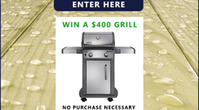 Win A $400 Weber Grill