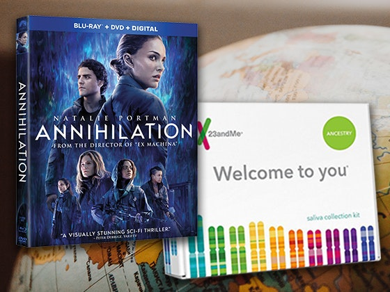 Annihilation and 23andMe Sweepstakes 2