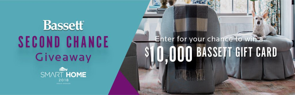 Bassett Furniture Second Chance Sweepstakes - Win A $10,000 Credit