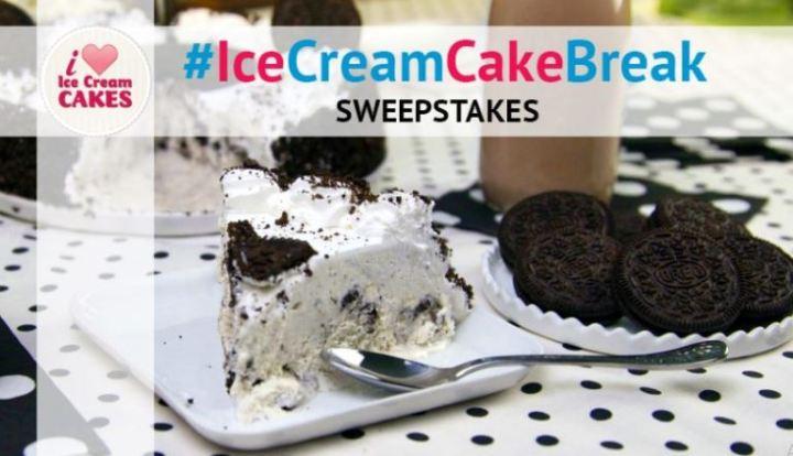 Carvel Ice Cream Cake Break Sweepstakes