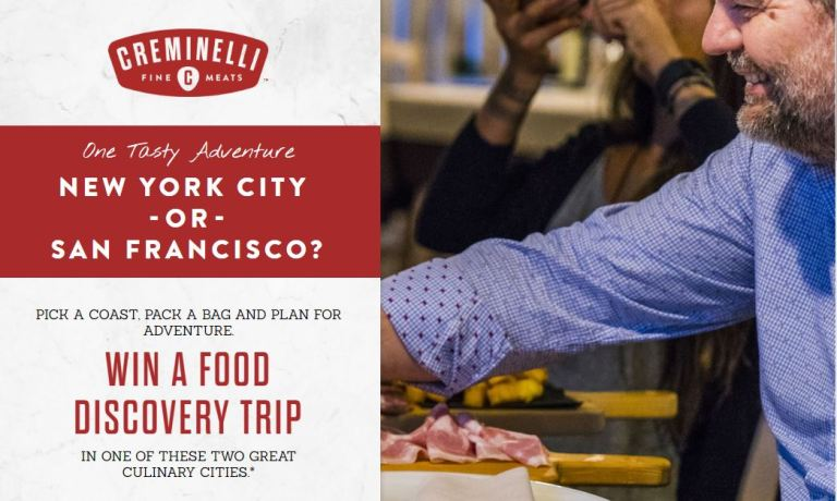 Creminelli Fine Meats Giveaway