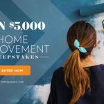 Family Circle Home Improvement Sweepstakes – Win $5,000 Cash Prizes