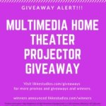 Free Multimedia Home Theater Projecto – Win $500 Theater Projector