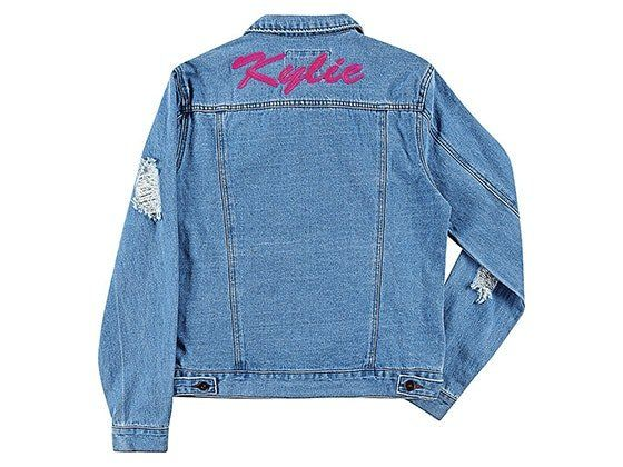 Free Personalized Denim Jacket From Beau's Babes