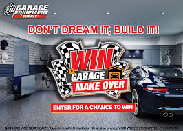 Win a garage makeover