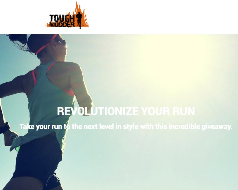 Revolutionize Your Run Sweepstakes