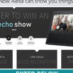 Tour Louisiana Amazon Echo Show Monthly Contest – Win Amazon Echo Show