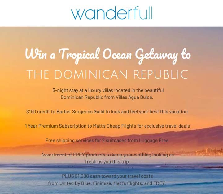 Tropical Ocean Getaway to the Dominican Republic