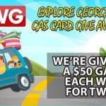 WSWG Explore Georgia Gas Card Giveaway – Win A $50 Gas Card