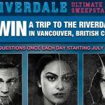 Warner Bros Riverdale Vancouver Set Visit Sweepstakes – Win A Free Trip