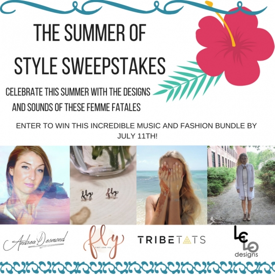 Win A Music and Fashion Prize Package