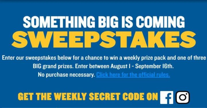 Perdue Something Big is Coming Sweepstakes - Win A trip to Maui, Hawaii