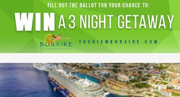 Porthole Cruise Readers Choice Awards Ballot Sweepstakes