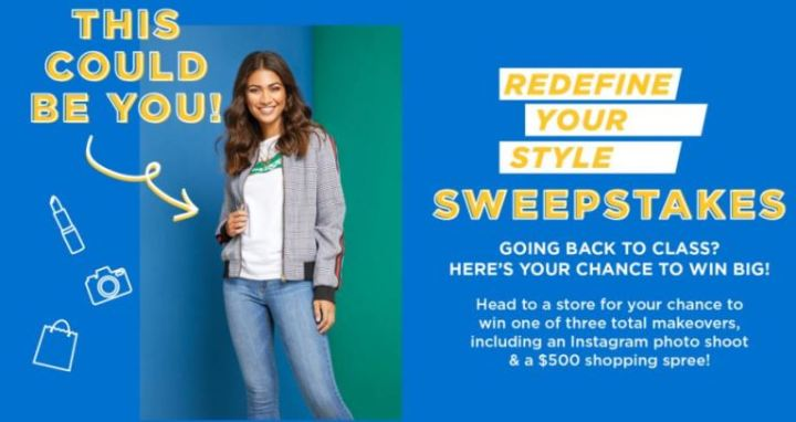 RUE 21 Redefine Your Style Sweepstakes