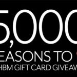Reasons To Love WHBM Sweepstakes – Win a $5,000 White House Black Market Gift Card