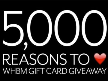 Reasons To Love WHBM Sweepstakes