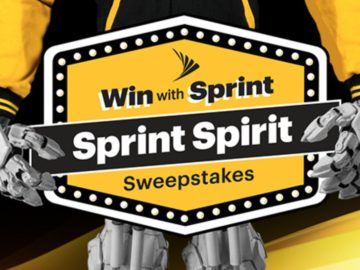 Sprint Spirit Sweepstakes & Instant Win Game - Win $5,000 in