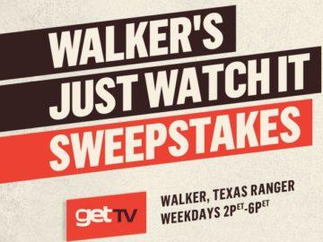 Walker's Just Watch It Sweepstakes