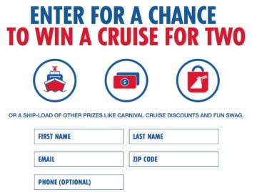 Carnival AirShip Sweepstakes