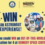 Guinness World Records Astronaut Experience Sweepstakes – Win a Trip to Kennedy Space