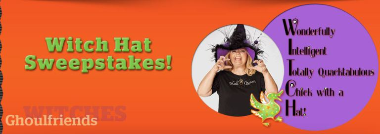 Quacker Factory Witch Hat Sweepstakes 2018