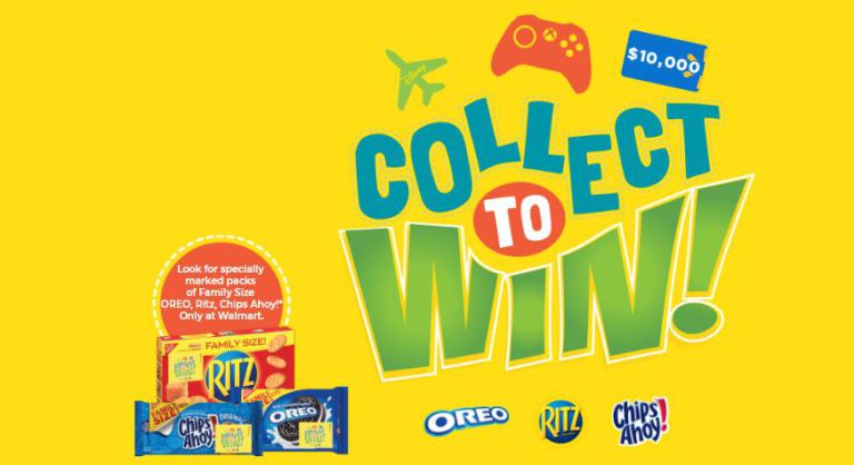 Walmart Collect Snack Instant Win Game