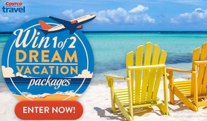 Costco Dream Vacation Package Contest