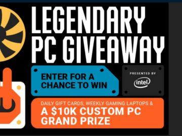 Newegg Legendary PC Giveaway 2019 - Win A PC