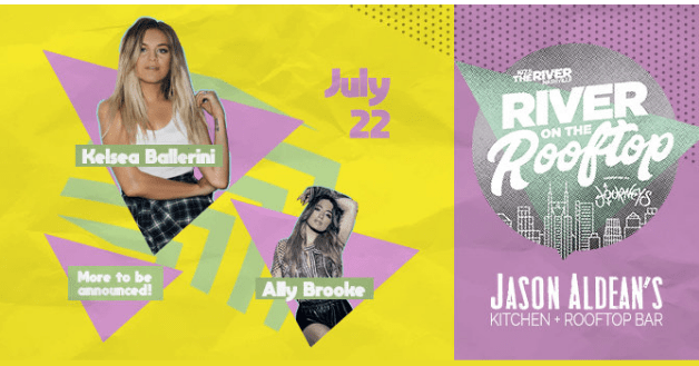 River on the Rooftop Kelsea Ballerini Contest – Win Two VIP Passes