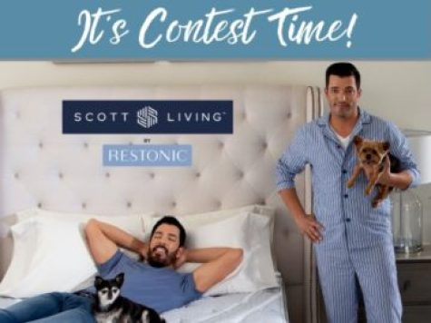 Property Brothers Scott Living Contest - Win A Mattress