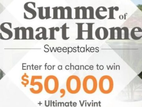 HGTV Summer of Smart Home Sweepstakes - Win A TV