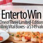 Grilling Vital Box Giveaway – Win Vital Box