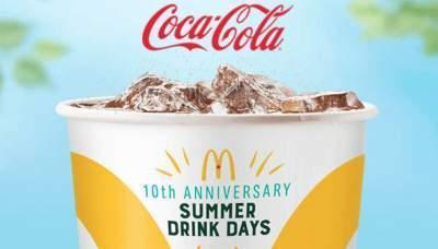 Mcdonalds Dollar Drink Days 2019