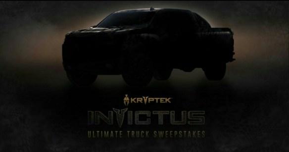 CarbonTV Kryptek Invictus Ultimate Truck Sweepstakes