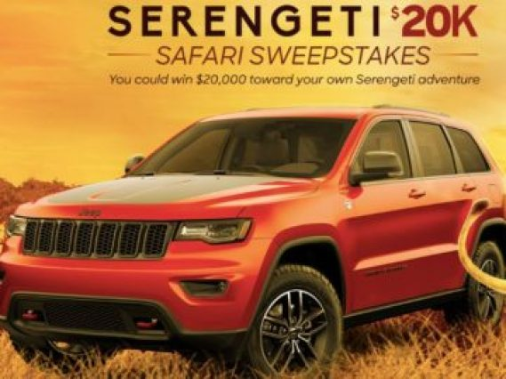 Discovery Serengeti $20K Safari Sweepstakes