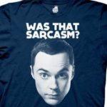 Sheldon Cooper Big Bang Theory T-Shirt – Win Gift Card