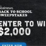 To School Sweepstakes Sponsored by Dell – Win Gift Card