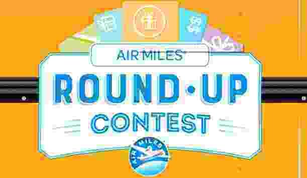 Air Miles Round Up Contest