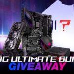ROG Ultimate Build Giveaway (promotions.newegg.com)