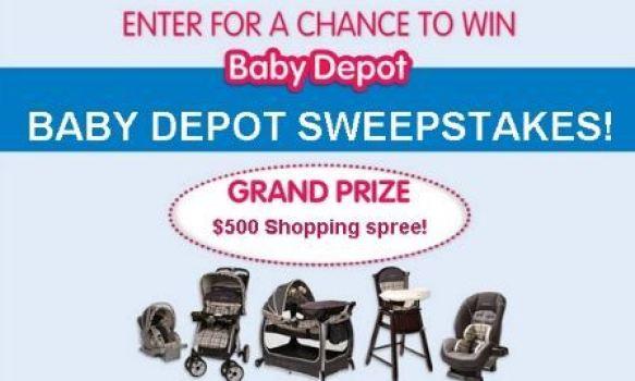 Burlington Baby Depot Shopping Spree Sweepstakes