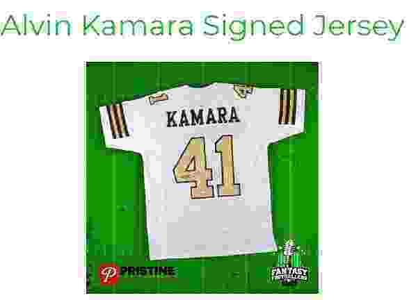 Footclan Giveaway – Win Alvin Kamara Signed Jersey