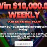 PrizePub Strike It Rich Sweepstakes (prizepub.com)